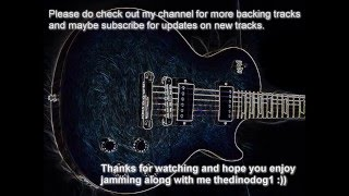 Slow Rock Blues Backing Track 16: in Gm