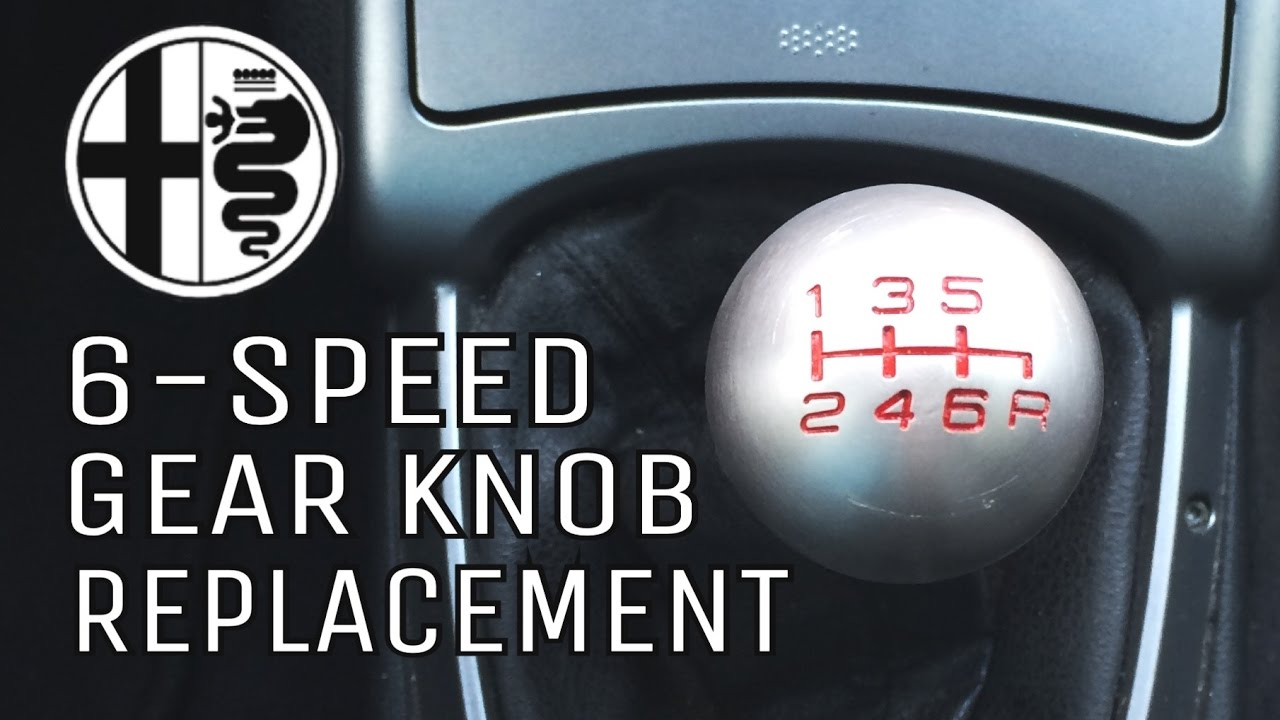 How To Remove Gear Shifter Knob On Alfa Romeo Speed YouTube - Alfa romeo shift knob