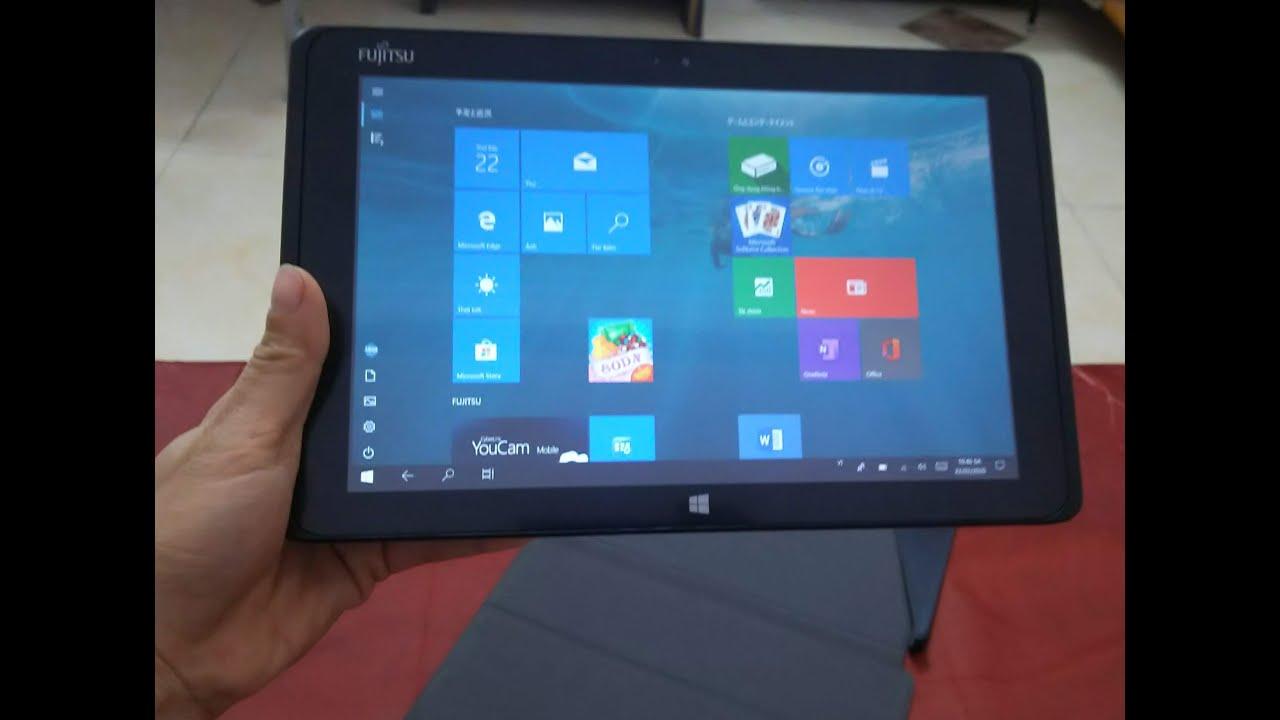 Máy tính bảng-laptop 2in1 Fujitsu ARROWS Tab Q506/ME