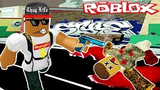 BEING A GANGSTER IN ROBLOX