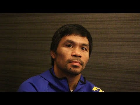 MANNY PACQUIAO RECALLS WHEN HE HAD TO LIE TO BOX, WAS TOO SMALL TO FIGHT