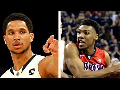 Top 5 NBA Draft Prospects 2017 By Position: Shooting Guard - Allonzo Trier, Josh Hart And More