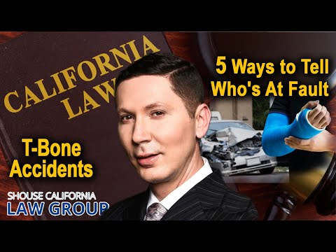 Fault and Damages in a T-Bone Car Accident Lawsuit