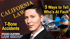 T-bone accident: 5 ways to tell who is at fault