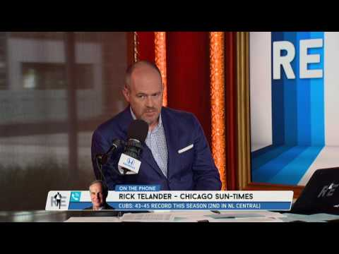 Senior Sports Columnist Chicago Sun Times Rick Tellander on Cubs-White Sox Trade - 7/13/17