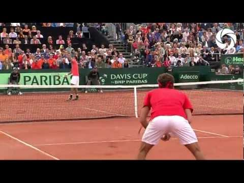 Thumbnail: HD Highlights: Federer vs Haase