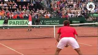 HD Highlights: Federer vs Haase
