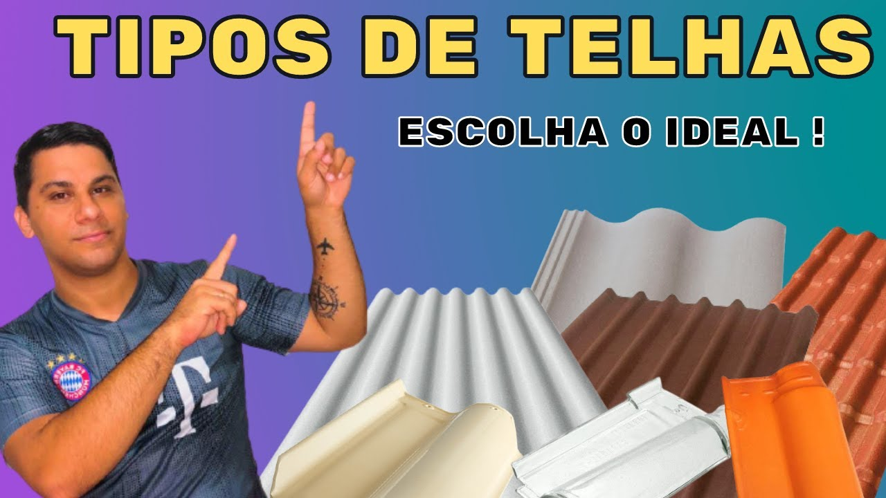 Download TIPOS DE TELHAS - escolha o ideal. #telhado #telhas