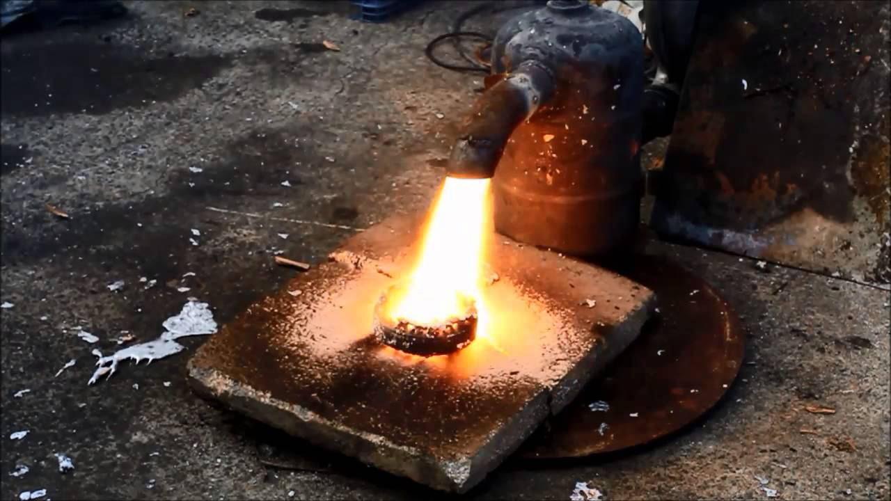 how to melt down copper to get silver