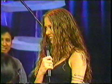 Samantha Cole  Tour Asia Philipines Performing Without you,  1998