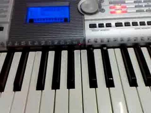 Kenny G Havana intro  Keyboard