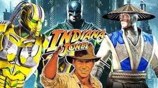 INJUSTICE 2 ALL Easter Eggs References So Far Indiana Jones Mortal Kombat Raiden Easter Egg