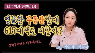 [감정평가사][리얼아이박감사]617부동산대책발표-다주택…
