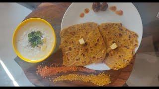 Dal Parantha | Yellow Dal Parantha | Punjabi Style | Easy Recipe