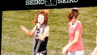 2008年10月5日、神宮球場東京ヤクルトvs阪神の試合開始前にDAD'Sが歌う...