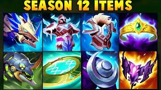 All New Season 12 Items/Runes Ręvealed + Hextech Dragon Portals and Chemtank Fields