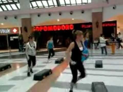 fitness sesation in corte lombardia milan italy