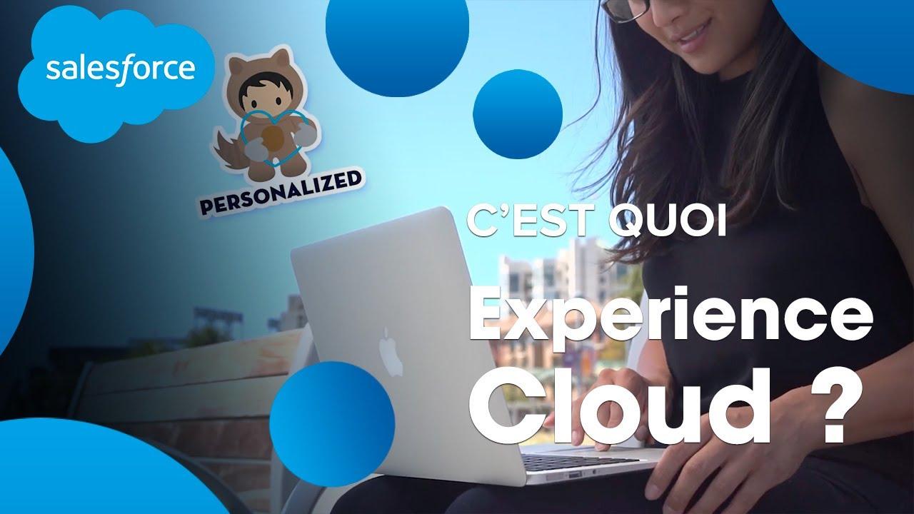 Démonstration d'ExperienceCloud   Salesforce