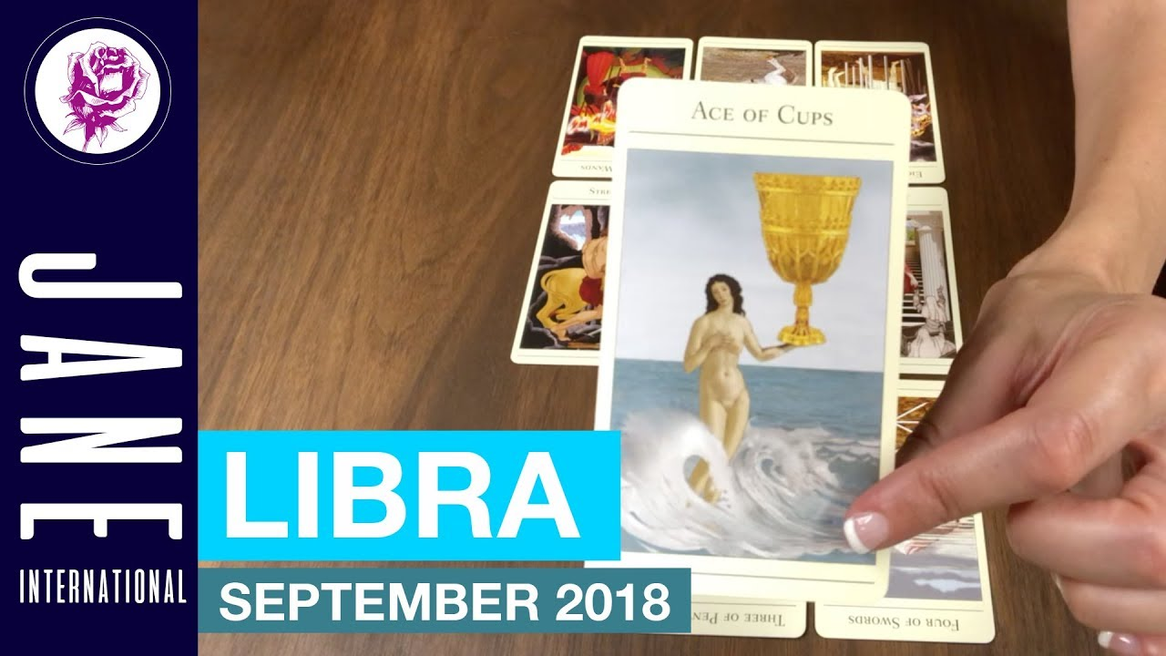 12th House, Libra September 2018