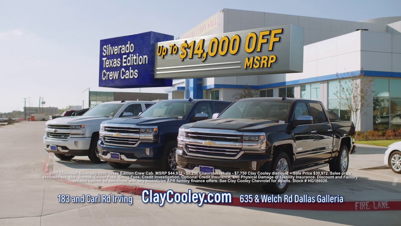 Clay Cooley Chevy >> Clay Cooley Chevrolet New Tahoes Up To 8 000 Off Msrp