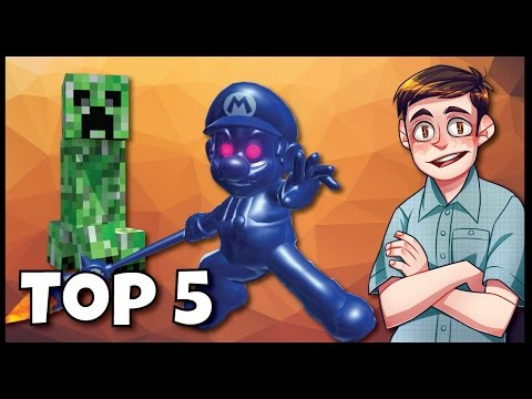 Top 5 Scary Things In Non-Horror Games! - Syy