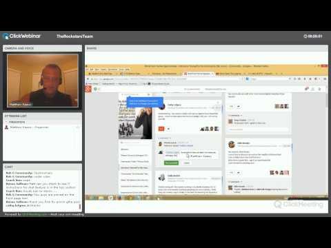 Google Plus Community Basics 101