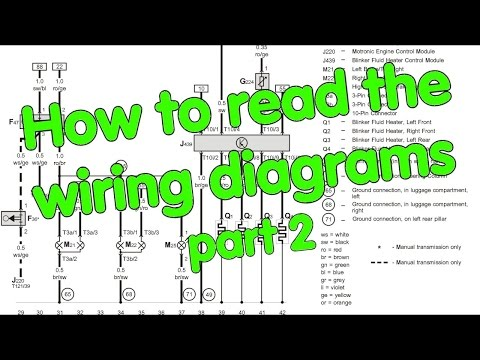 How to read Wiring Diagrams,  part 2 of 2
