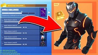 *MAXED* Omega SKIN REVEALED! | SEASON 4 GAMEPLAY in Fortnite Battle Royale!