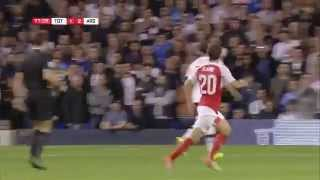Tottenham Hotspur vs Arsenal 1-2 [Extended Highlights] Capital One Cup