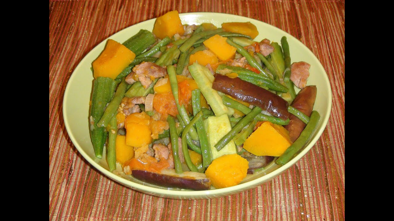 Pinoy Recipe How To Make Pinakbet Ilocano Style Youtube