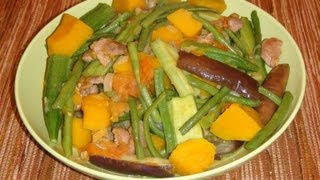 PINOY RECIPE - HOW TO MAKE PINAKBET [ ILOCANO STYLE ]