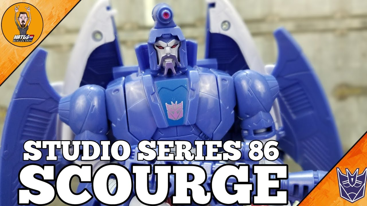 Transformers Studio Series 86 Movie Scourge Review By Kato's Kollection