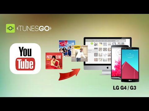 How to Download Music from YouTube to LG G4 / G3 / G5 on Mac (OS X El Capitan included)