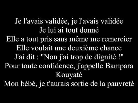 BOOBA-Validée ft.Benash ( Paroles )