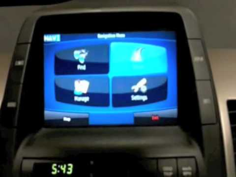 Cartronics iTronic P1 Prius Navigation / Bluetooth Upgrade m4v