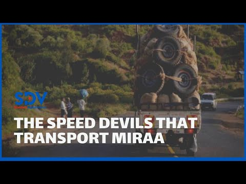 Vehicles transporting miraa shock many as they speed through town centres