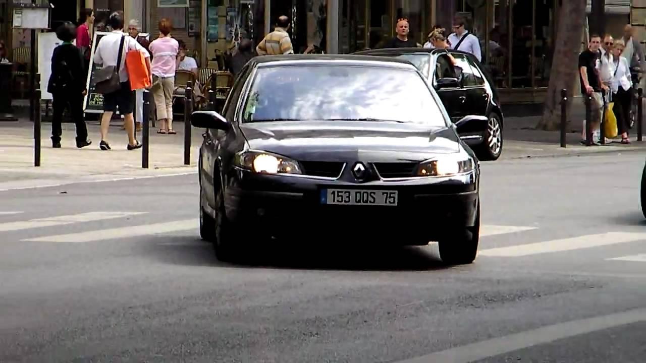 unmarked police car renault laguna voiture de police banalis e youtube. Black Bedroom Furniture Sets. Home Design Ideas