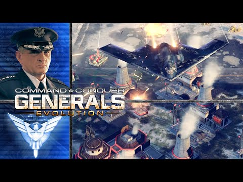 Command And Conquer Generals Zero Hour   General Granger   Air Force General