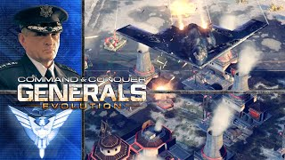 Command and Conquer Generals Zero Hour | General Granger | Air Force General