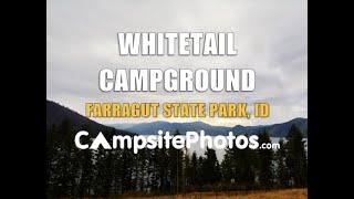 Whitetail Campground, Farragut State Park, Idaho
