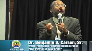 Dr. Ben Carson - Man Up Conference speaker - Chapter 2