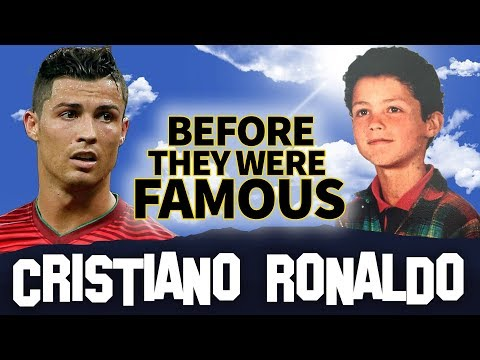 CRISTINO RONALDO   Before They Were Famous   BIOGRAPHY