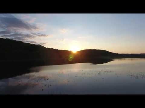 DJI Phantom 4 flyover Nessmuk Lake