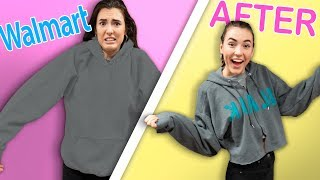How To Make Walmart Clothes Trendy!