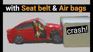 Car Safety Awareness With A Diy Crash Test