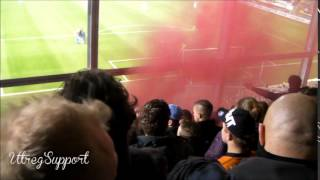 NAC Breda - FC Utrecht (28-3-2014) Uitvak opkomst 1/2