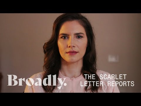 Amanda Knox Opens Up about Harassment  The Scarlet Letter Reports