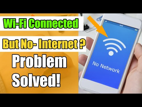 How To Fix WiFi Connected But No Internet Access On Android | Fix WiFi Connection Problem
