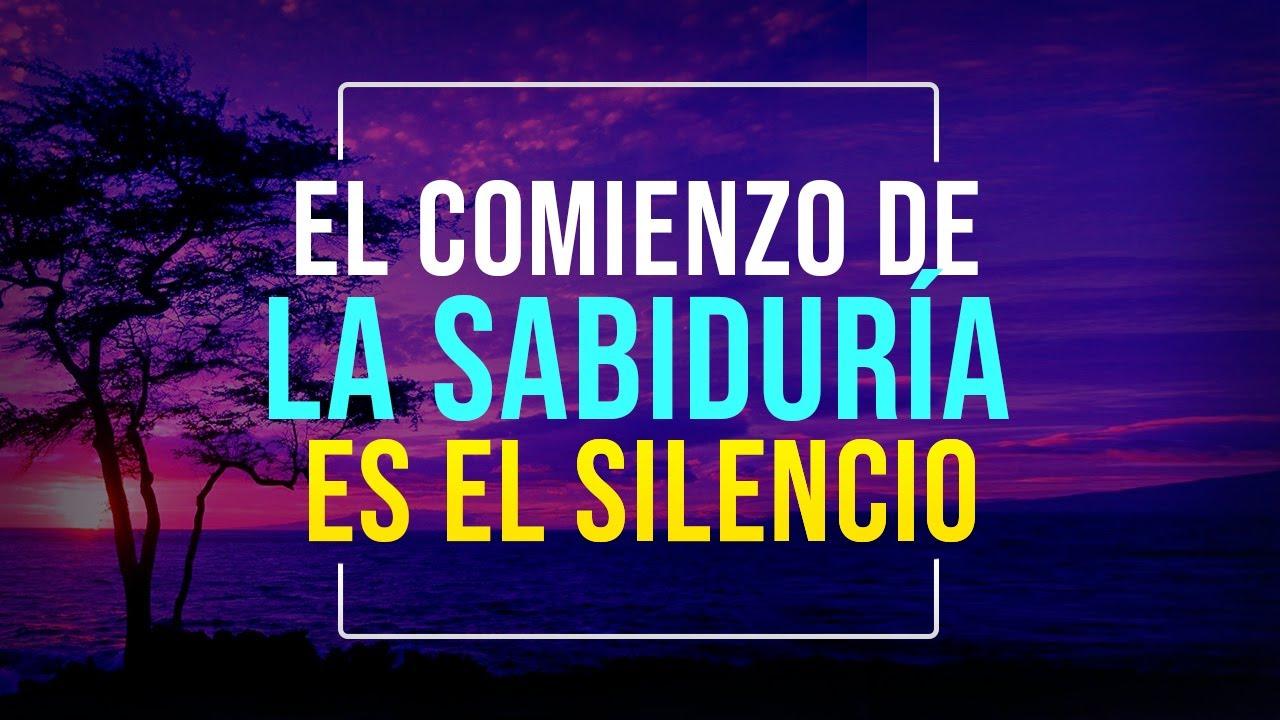 LA SABIDURÍA DEL SILENCIO | POR QUÉ EL SILENCIO ES TAN PODEROSO |  EL PODER DEL SILENCIO
