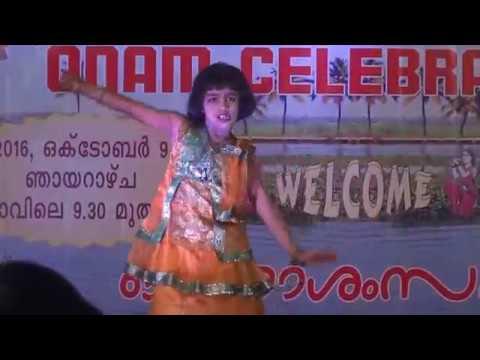 Mandarame om shanti oshana cinematic dance performance by baby Devapriya R Sankar